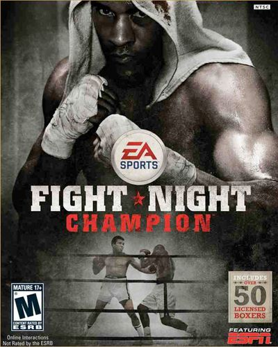 CHAMPION! The 2011 game was the last boxing title EA has released.