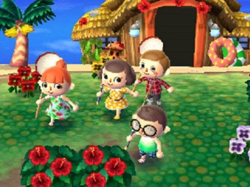 Multiplayer gaming in Animal Crossing: New Leaf