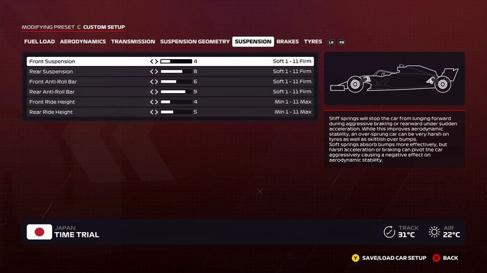 F1 2020 Japan suspension