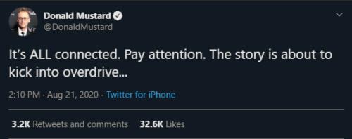 Donald Mustard Tweet 1