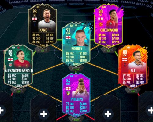 Rooney Squad Links