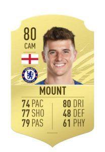 Mount fifa 21 rating 1