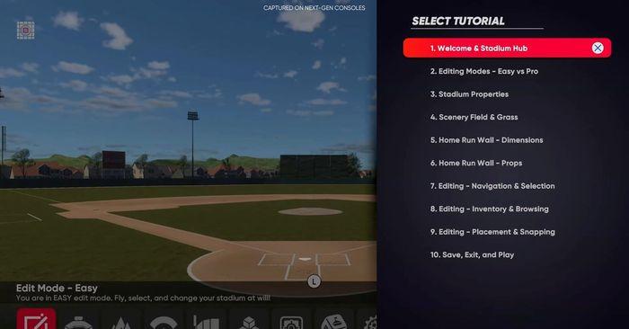 MLB The Show 21 Stadium Creator Practice Tutorial