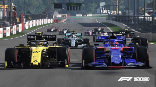 F1 games offer wheel-to-wheel action