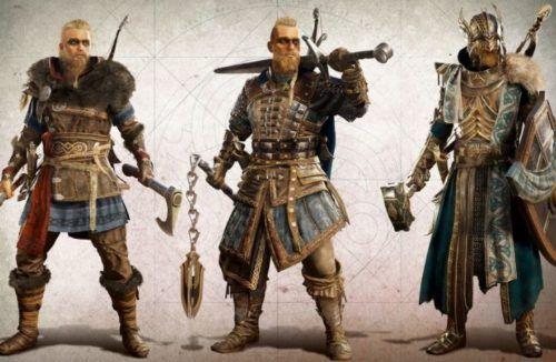 custom assassins creed valhalla characters