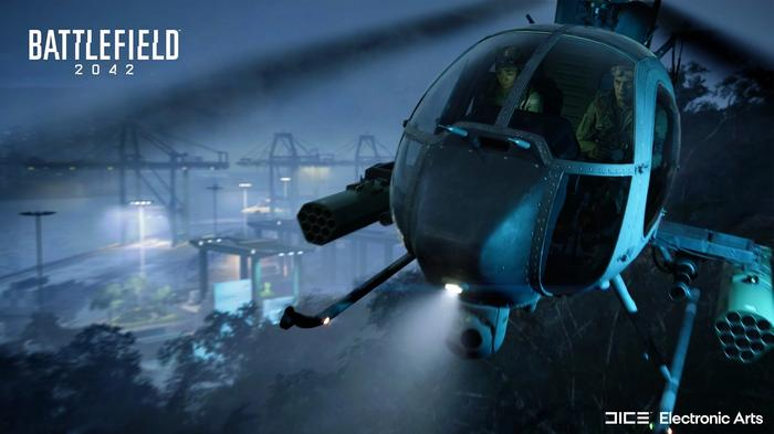 Battlefield 2042 map manifest helicopter