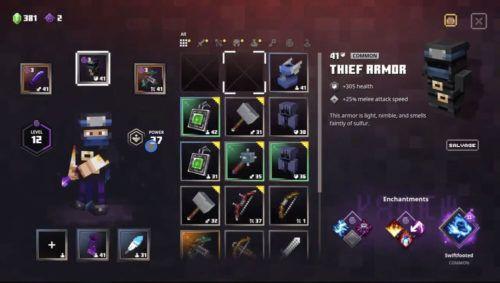 Thief Armor Minecraft Dungeons