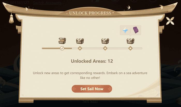 Genshin Impact Mysterious Voyage rewards