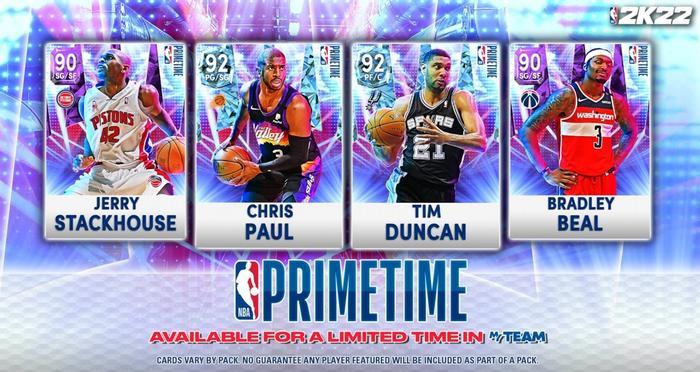 The Primetime set in NBA 2K22