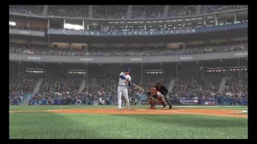 Cody Bellinger at the plate in MLB The Show 19