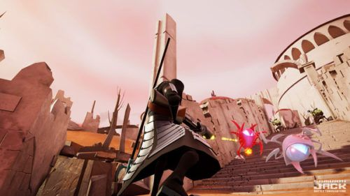 Samurai Jack gameplay
