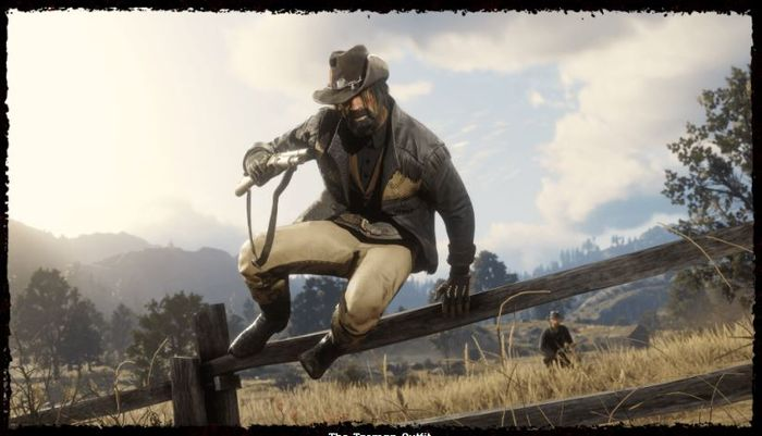 tasman outfit red dead