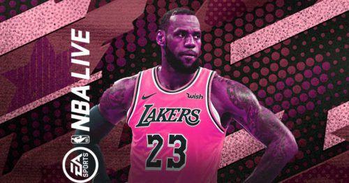 NBA live 21 ea play