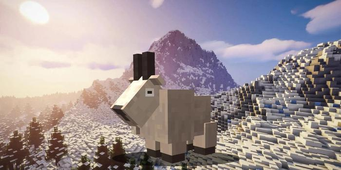 Minecraft Caves And Cliffs Update Snapshot Features Goat