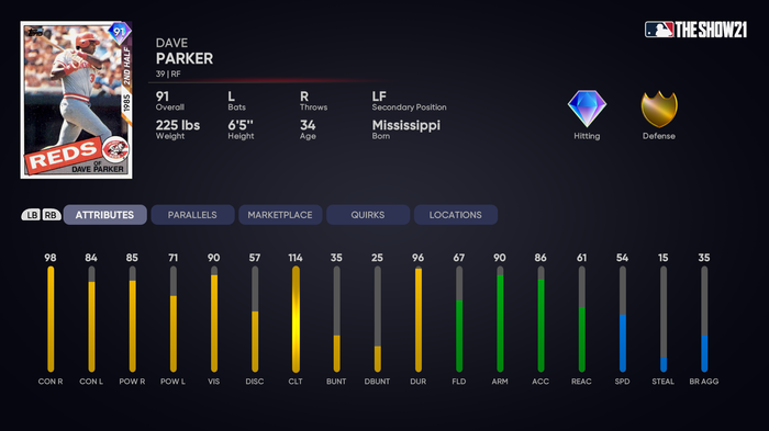 MLB The Show 21 Player Program Dave Parker How to Unlock 3rd Inning