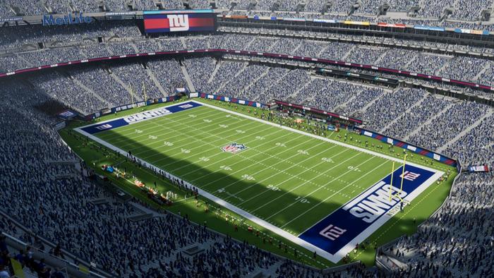 Madden 22 giants field stadium playbook metlife