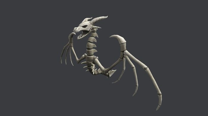 roblox wyrm skeleton