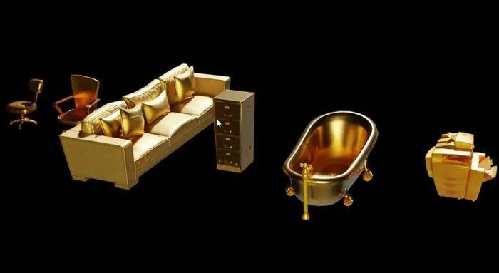 Fortnite Gold Props