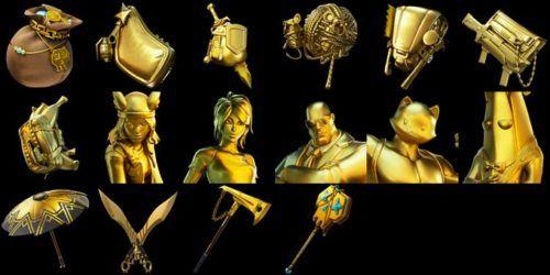 Gold Skins