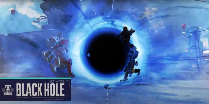 Apex Legends Horizon Black Hole Ability Ultimate
