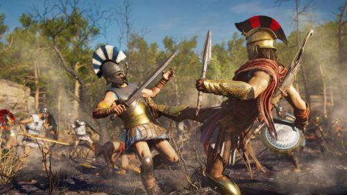 Combat in Assissin's Creed: Odyssey