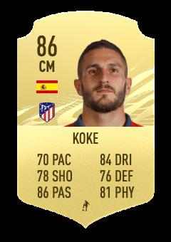 fifa 22 koke 86 prediction