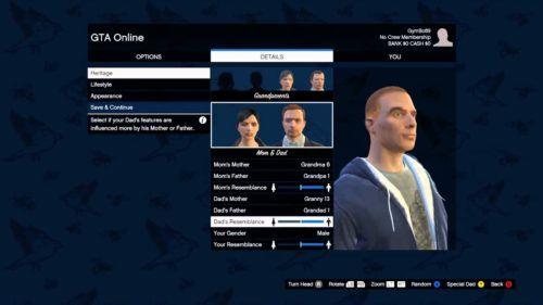 GTA5 Online customisation options.