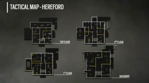 Tactical Map Hereford R6