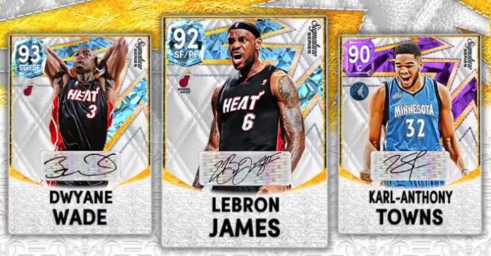 Signature Series set in NBA 2K22