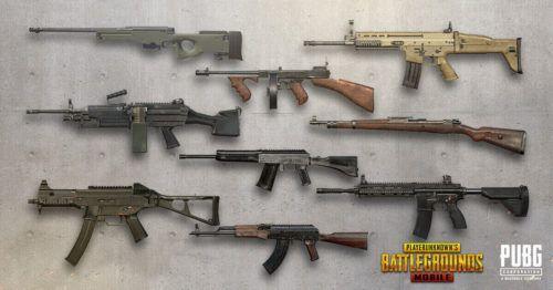 PUBG Mobile Season 13 guns