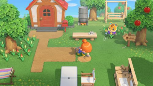 animal crossing new horizons e3 2019 showing off the gameplay.