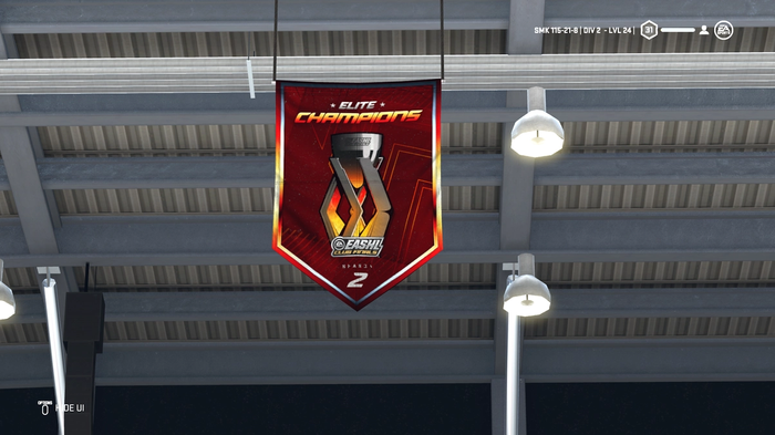 NHL 21 World of Chel Cup Club Final Banner