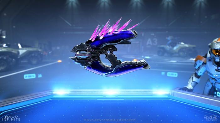 NEEDLER - The iconic weapon is back and looks better than ever