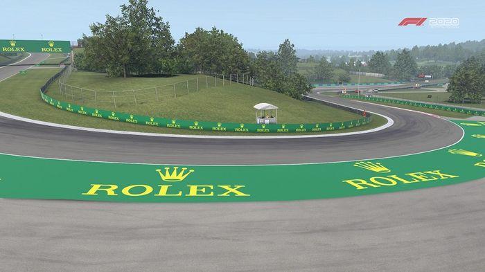 F1 2020 Hungarian GP Hungaroring Turn 3