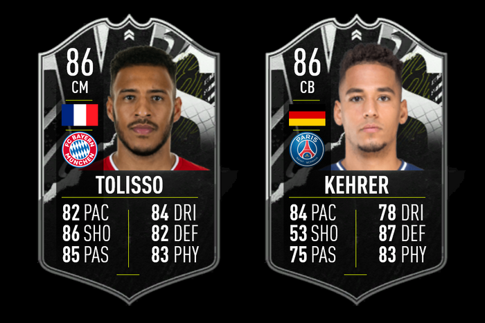 FIFA 21 FUT 21 Showdown SBC Players Tolisso Kehrer