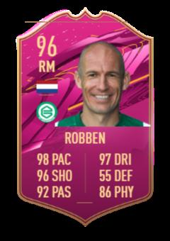 Arjen Robben FUTTIES SBC