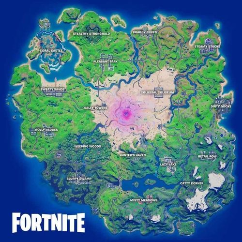 Fortnite Chapter 2 Season 5 Map Week 1