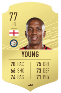 Young fut base card