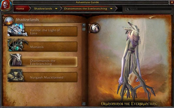 Oranomonos the Everbranching WoW Shadowlands Weekly Reset World Boss