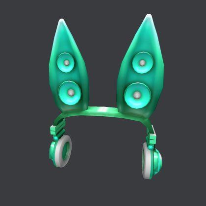 teal techno rabbit robux