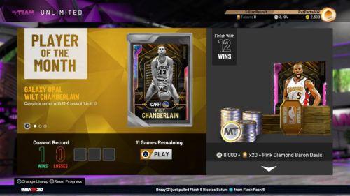 NBA 2K20 MyTeam Unlimited game mode