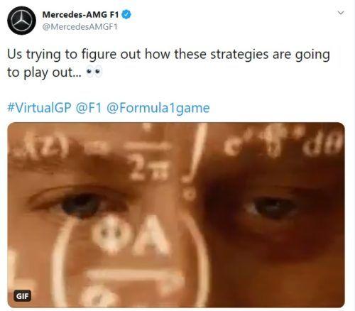 Mercedes tweet meme strategy