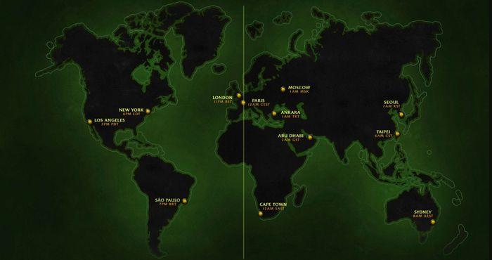 WoW Classic TBC launch time regional schedule
