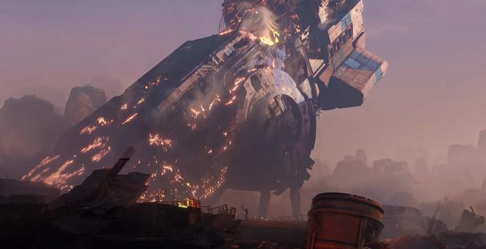 Apex Legends Season 8 Weapons Supply Drop Crash Site Kings Canyon