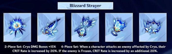 Genshin Impact Ayaka Blizzard Strayer