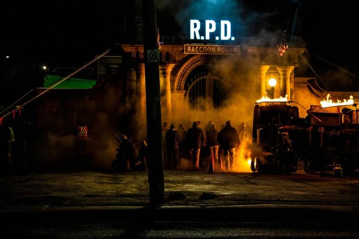 Resident Evil Movie Reboot RPD Set