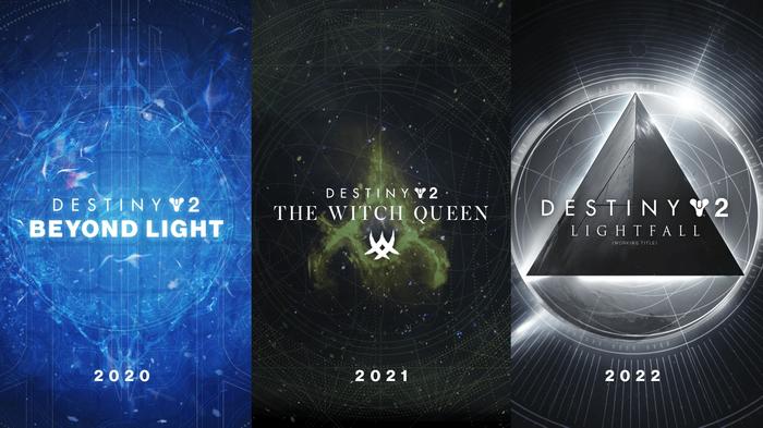 Destiny 2 The Witch Queen Beyond Light Lightfall Timeline