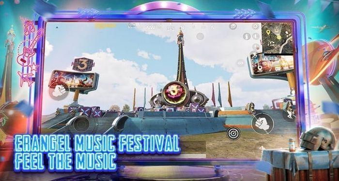 PUBG Mobile 1.3 Update Music Festival Erangel Stage