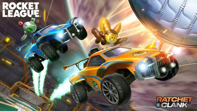 Rocket League Ratchet Clank Bundle