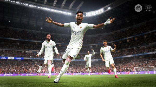 FIFA 21 next gen graphics real madrid